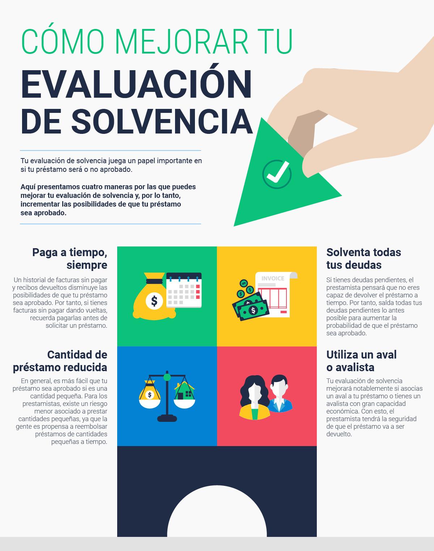 ¿Cómo mejorar tu evaluación de solvencia?